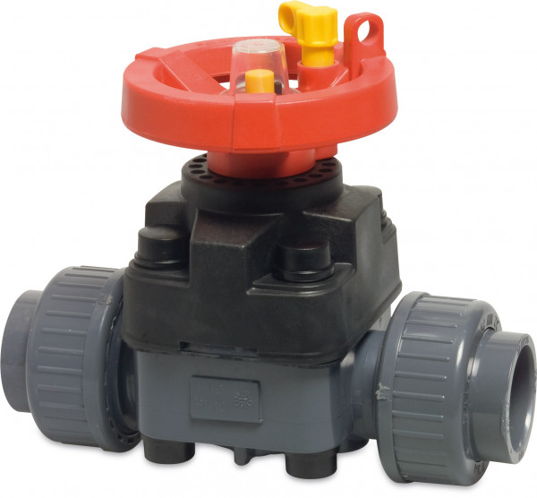 Diaphragm valve T4 hand operated