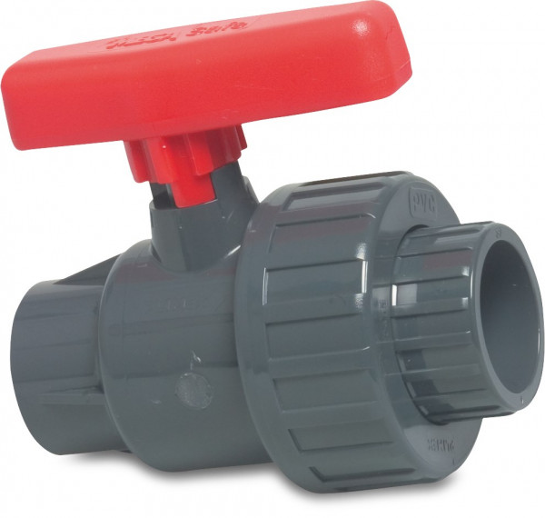 Ball valve with single union, type Safe 525