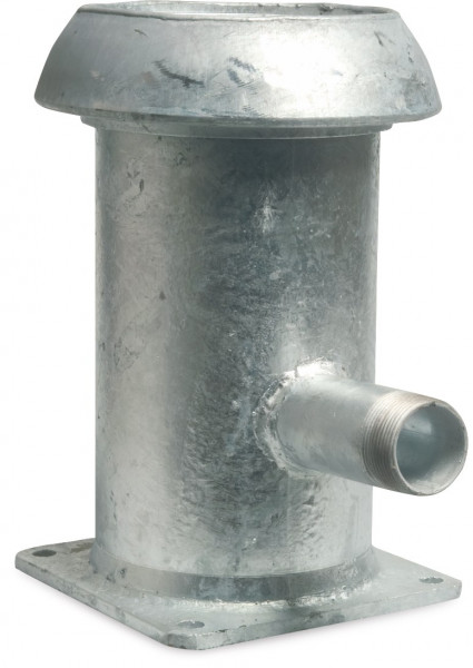 Quick coupler with outlet