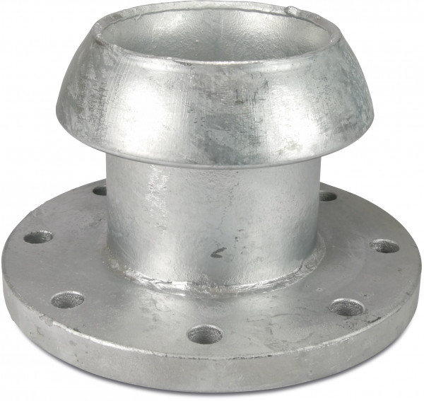 Male part with flange