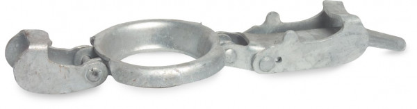 Male part clamp, type S2