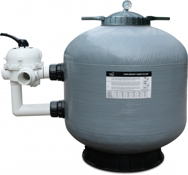 Mega S series side mount sand filter