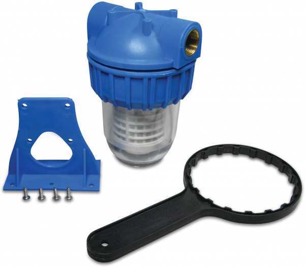 """Hydro-S plastic water filter 5"""" with cartridge"""